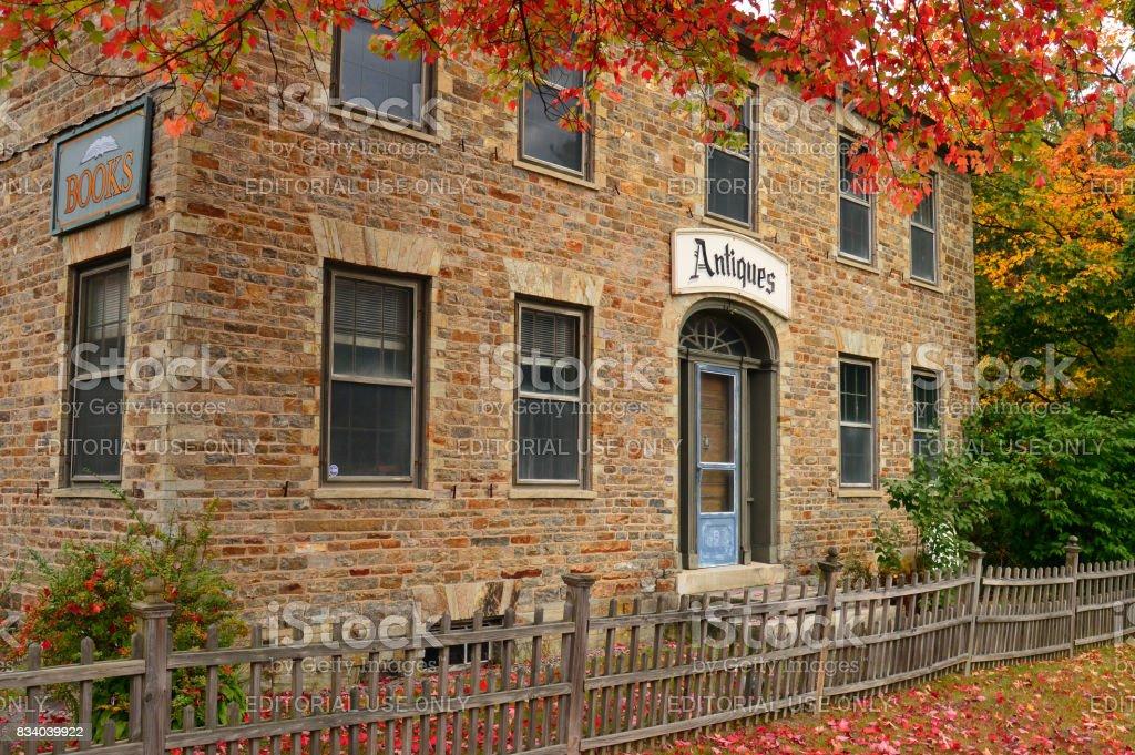 Autumn Antiques stock photo