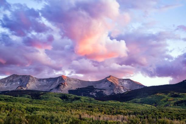 Autumn Aspen Color stock photo