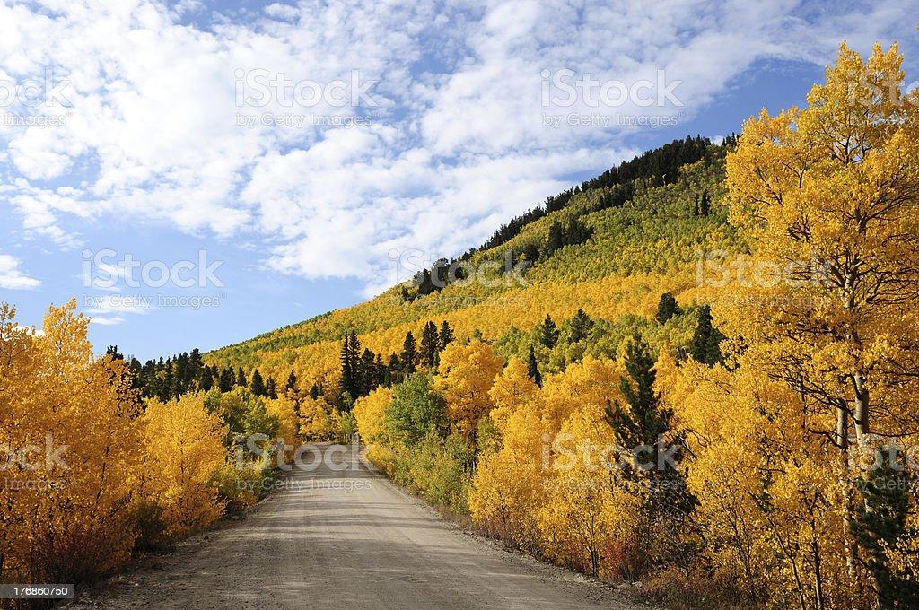 Autumn at Boreas Pass royalty-free stock photo