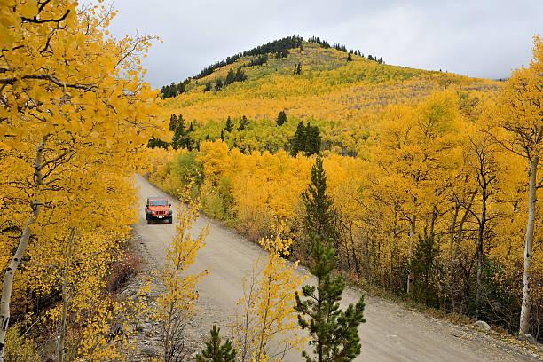 Autumn at Boreas Pass stock photo