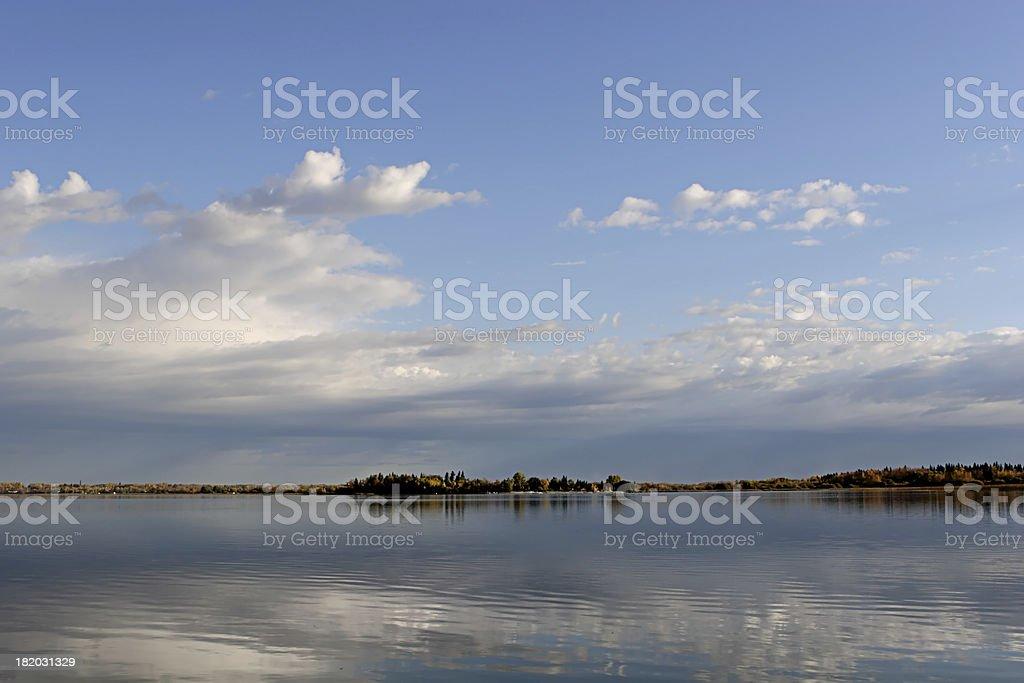 Autumn At The Lake royalty-free stock photo