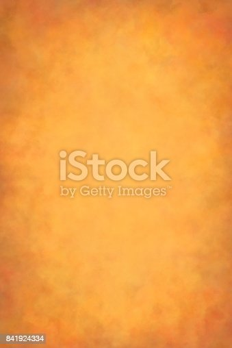 Ocher-Red-Brown Autumn edition. Hand painted photography backdrop.