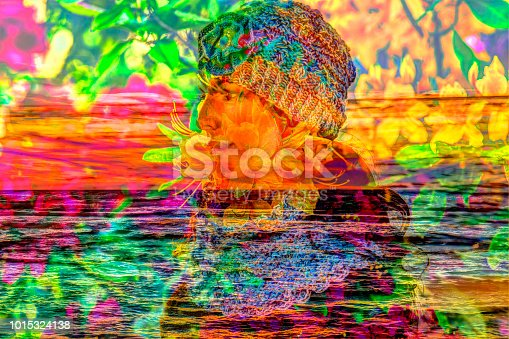 860245894 istock photo Autumn background with the girl and the sea 1015324138