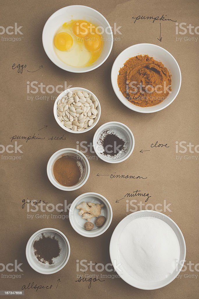 Autumn Baking stock photo