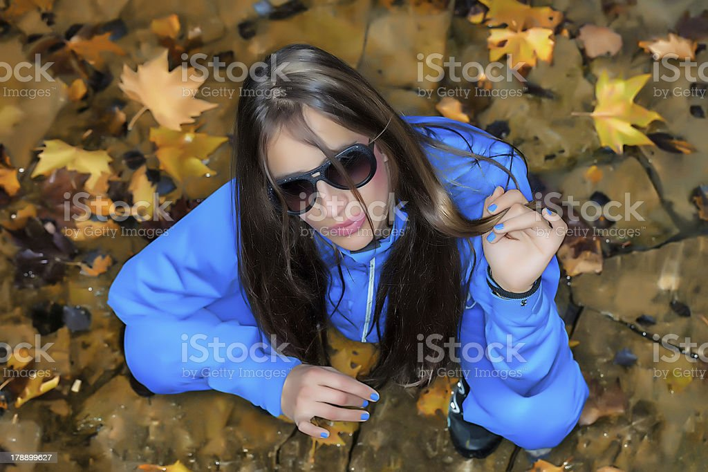 Autumn Beauty royalty-free stock photo