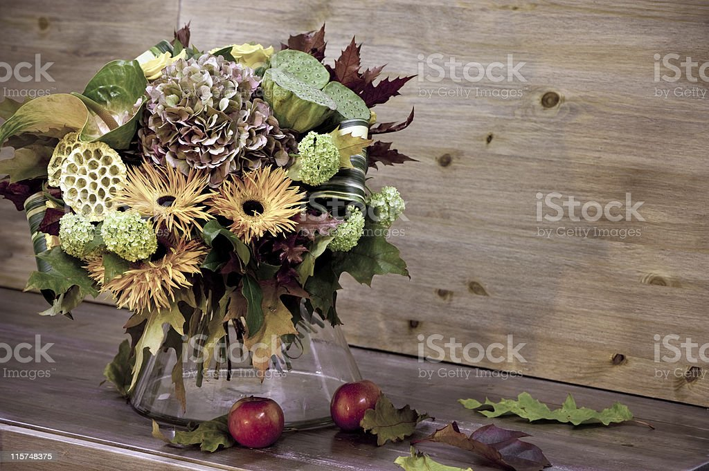 Autumn bouquet royalty-free stock photo