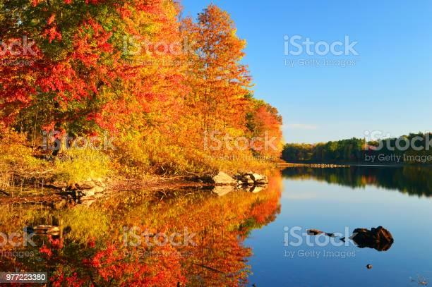 Photo of Autumn Calm In New England