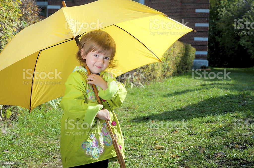 추절 하위 세로는, 우산 royalty-free 스톡 사진
