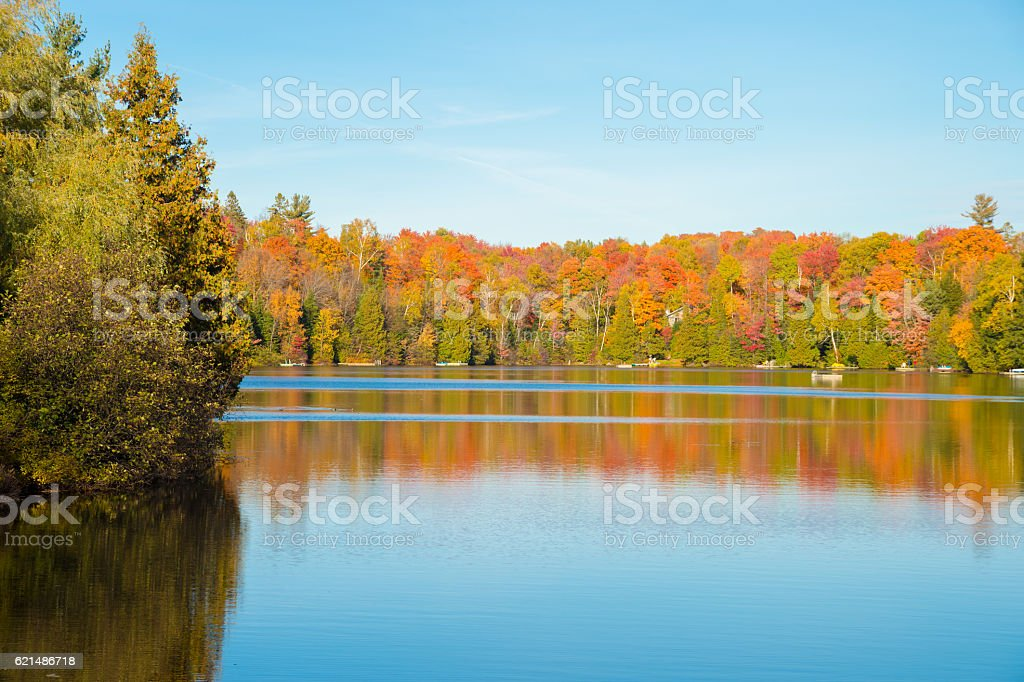 Autumn colors in Quebec, Canada foto stock royalty-free