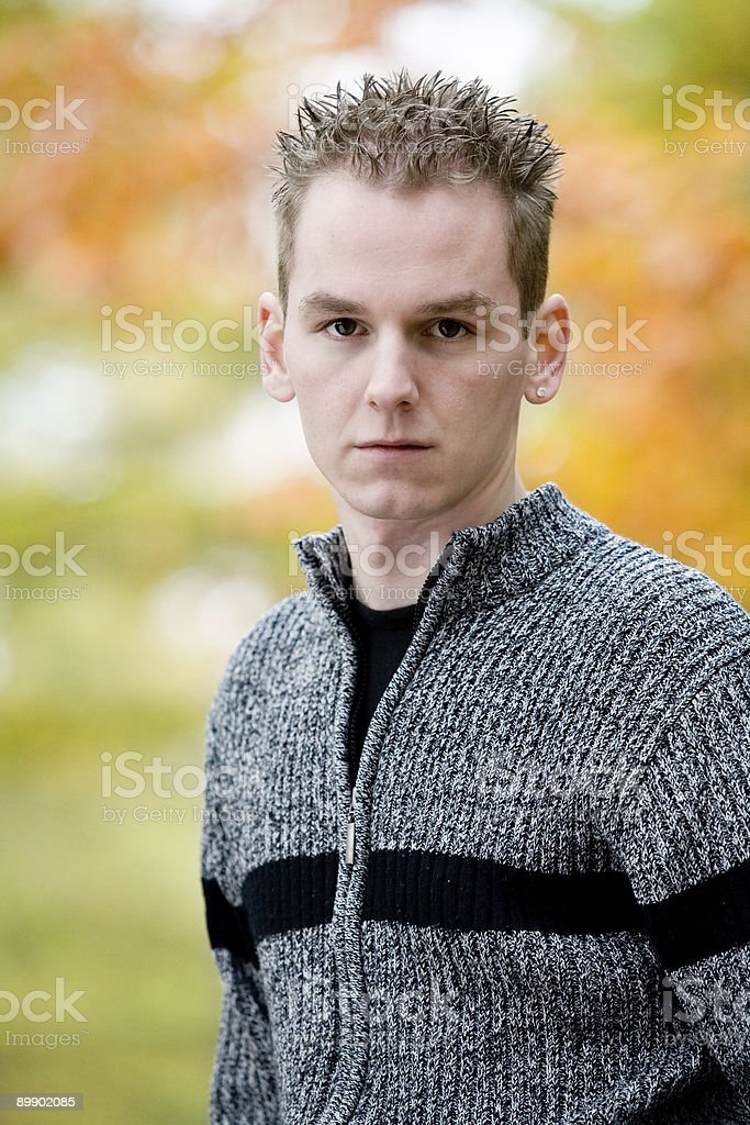 Autumn colors of colours royalty-free stock photo