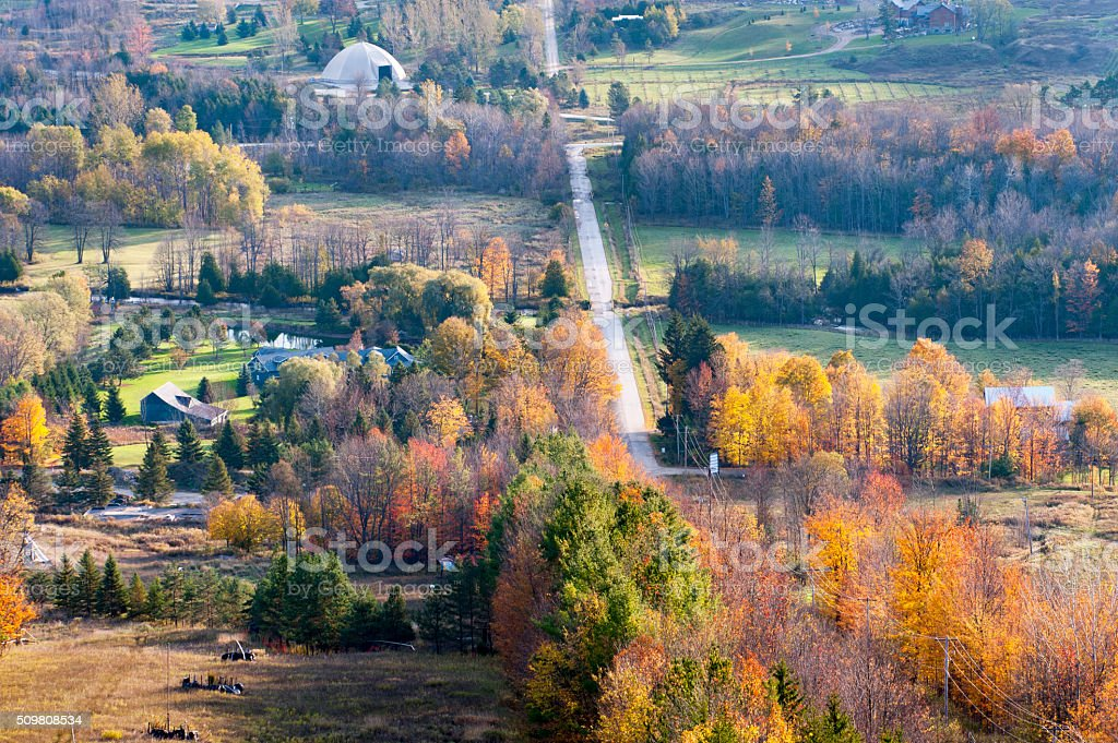 Autumn colors stock photo