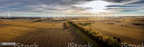 Photo of Autumn Crop Land