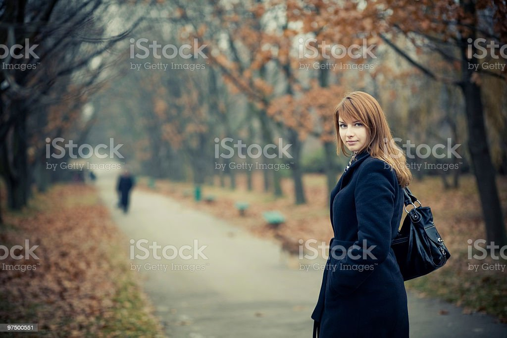 Autumn Day royalty-free stock photo