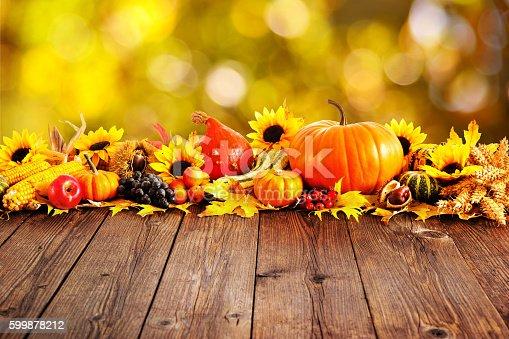 istock Autumn decoration 599878212