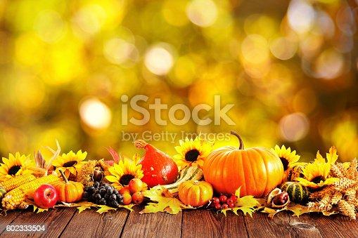 istock Autumn decoration 602333504