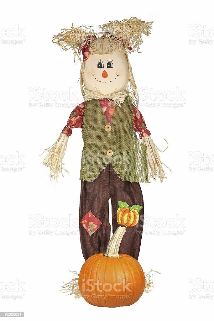 Boneca de outono - foto de acervo