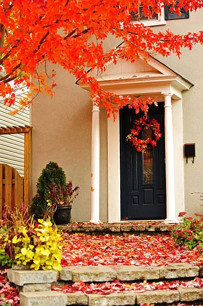Herbst Tür – Foto