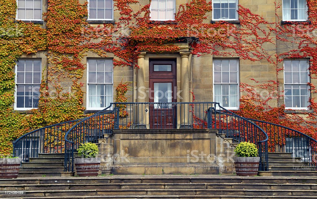 Autumn Entrance stock photo