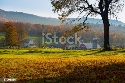 488912426istockphoto Autumn Evening on the Farm 187296860