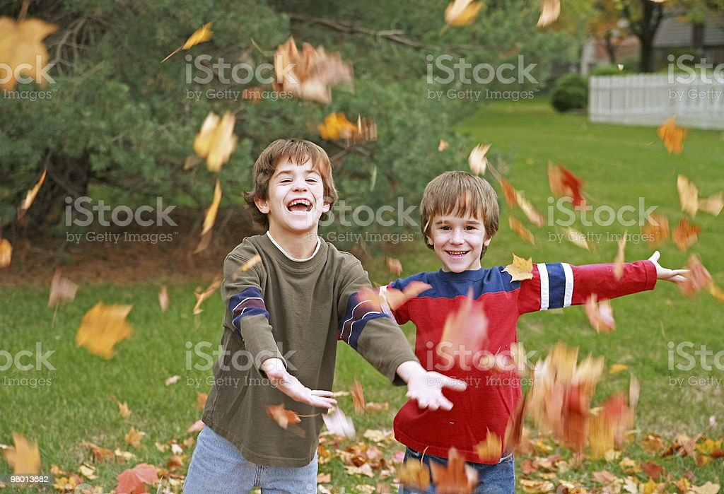 Autumn Faces royalty-free stock photo