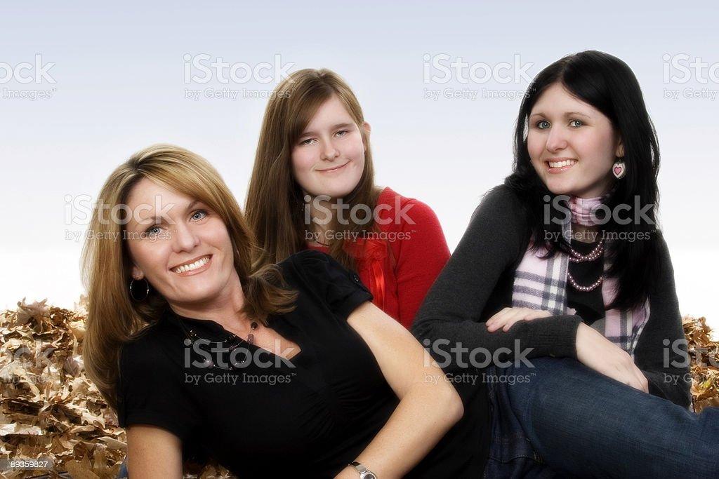 Autumn Family royalty free stockfoto