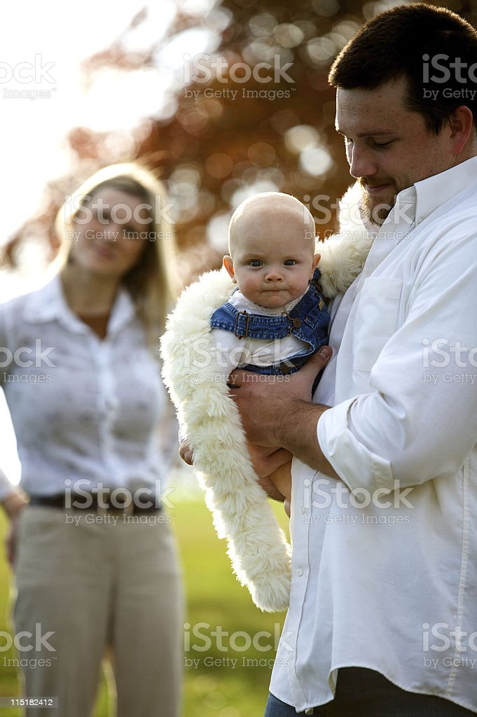 autumn family portraits royalty-free stock photo