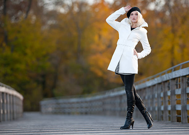 autumn fashion, fall colors - fall fashion stock photos and pictures