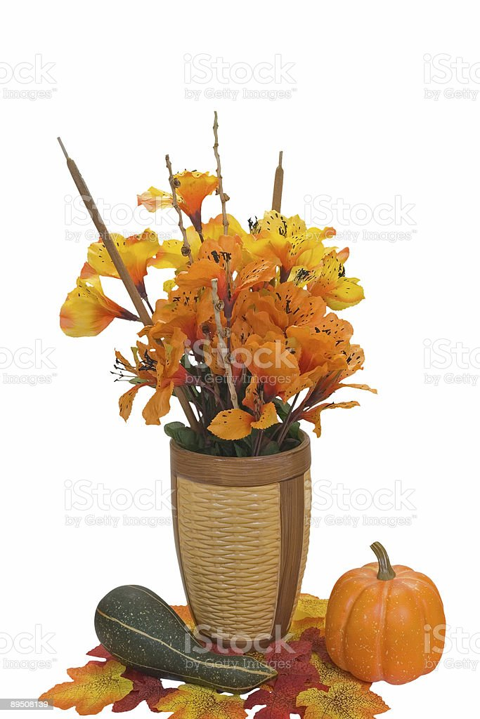 Autumn Flowers royalty-free stock photo