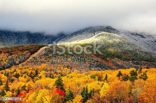 Mount Washington is the highest peak in the Northeastern United States at 6,288.2 ft and the most prominent mountain east of the Mississippi River.