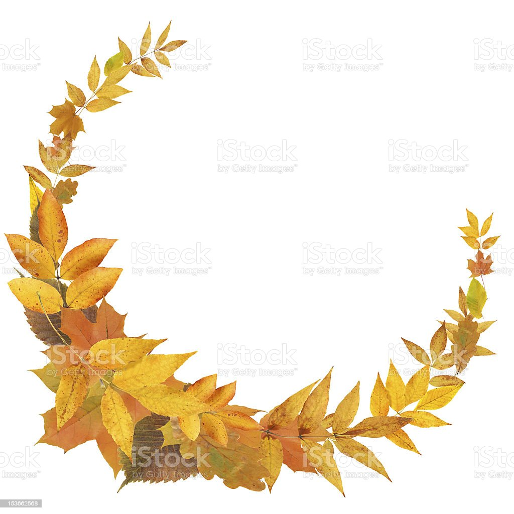 Autumn Frame royalty-free stock photo