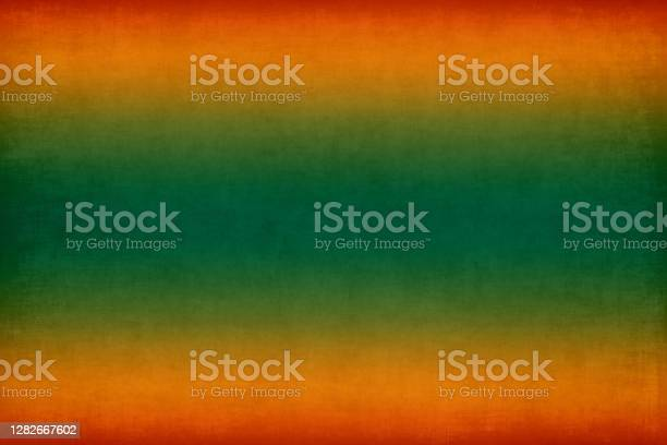 Photo of Autumn Grunge Background Cinco de Mayo Abstract Concrete Paper Old Texture Green Red Orange Gold Gradient Pattern