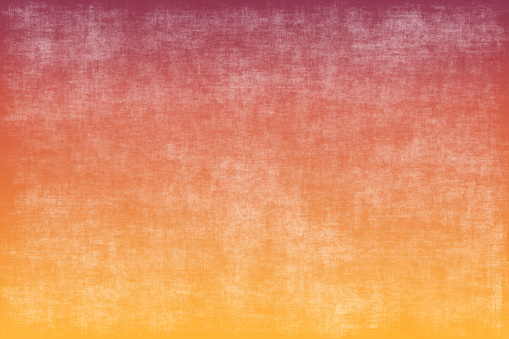 Autumn Grunge Gradient Ombre Orange Red Yellow Background Abstract Concrete Linen Paper Texture Copy Space Design template for presentation, flyer, card, poster, brochure, banner