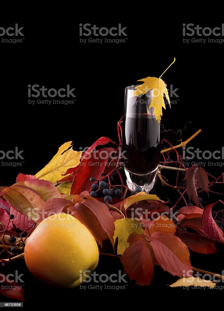Autunno raccolta. Verticale. foto stock royalty-free