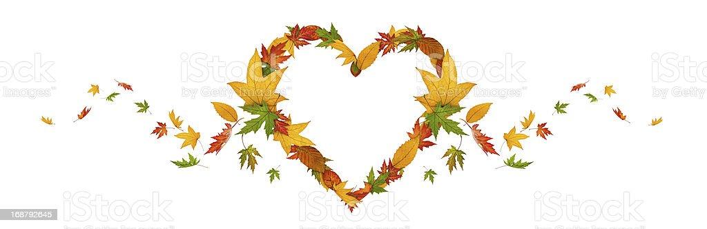 Herbst-Herz – Foto