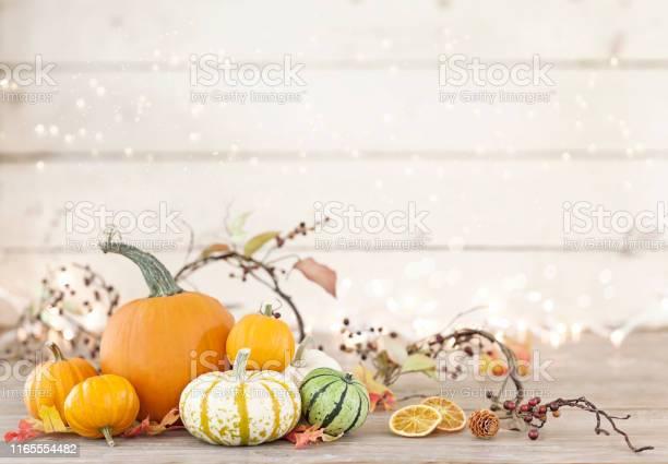 Autumn holiday pumpkin arrangement against an old white wood picture id1165554482?b=1&k=6&m=1165554482&s=612x612&h=jbsxz1g 9wlqnpfdayps7nv zj97vmthz02helif0i4=