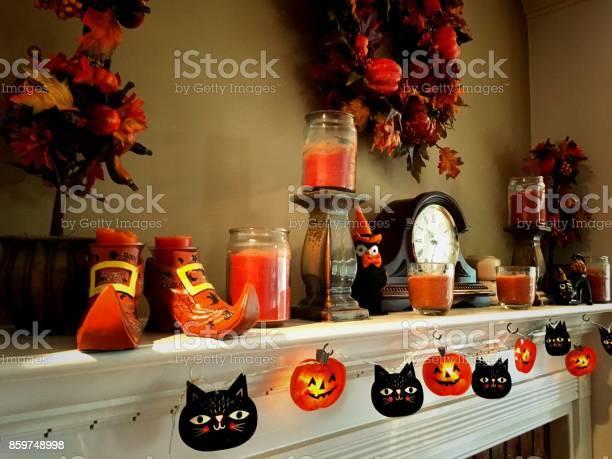 Autumn household decor on fireplace mantle picture id859748998?b=1&k=6&m=859748998&s=612x612&h=f6tk1fup6fcf0sw4huthvmn4bf3puxzi6ueb6wm1r8w=
