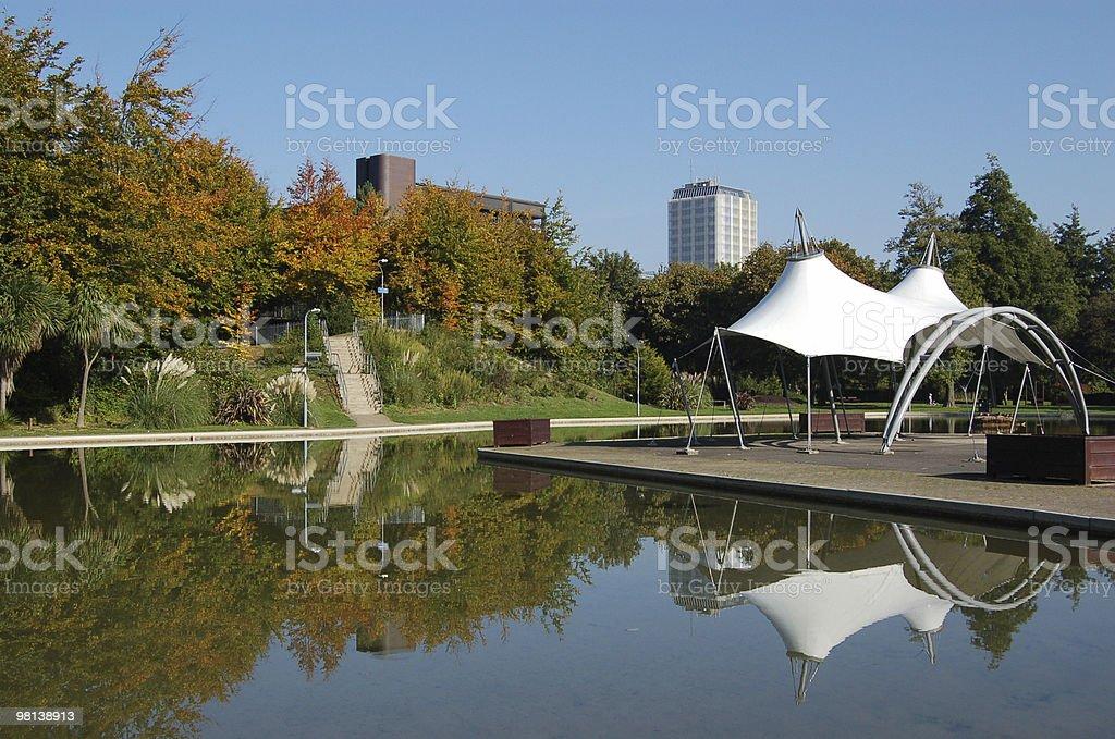 Autumn in Basingstoke stock photo