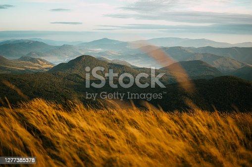 istock Autumn in Bieszczady Mountains 1277385378