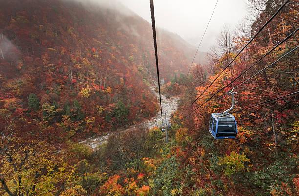 Herbst in Seilbahn – Foto