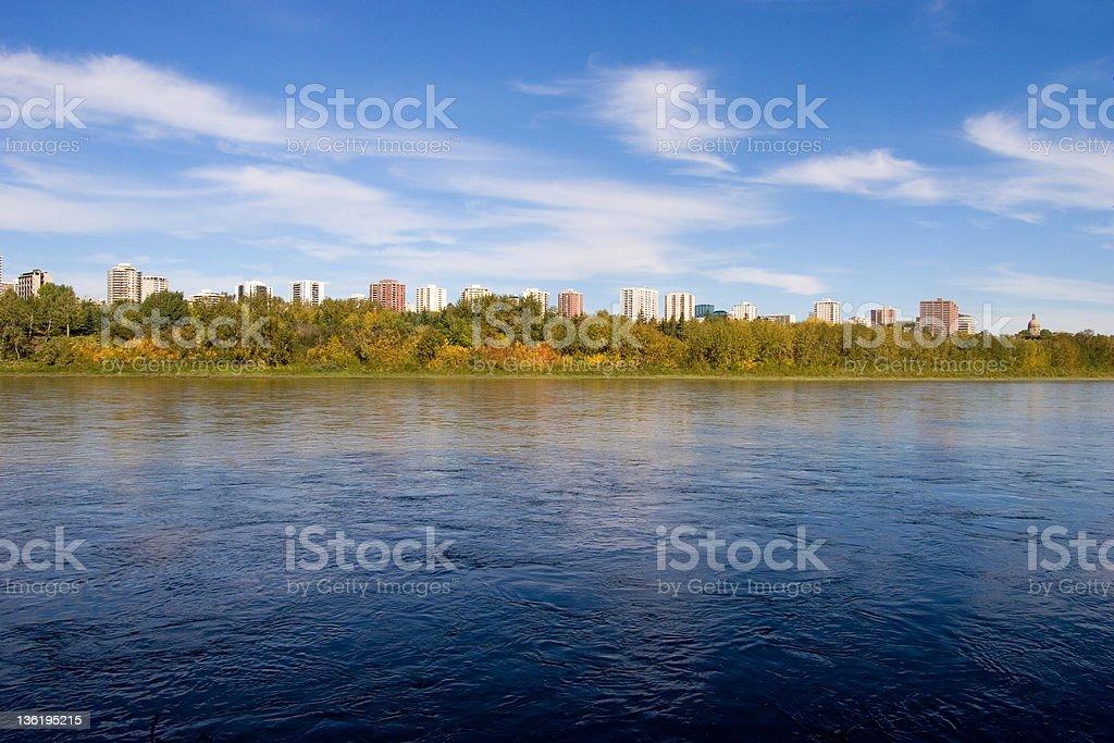 Autumn In Edmonton # 4 royalty-free stock photo