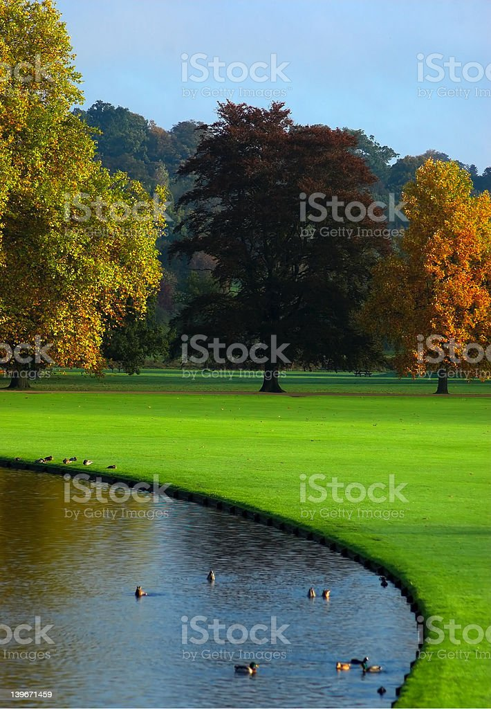 Autumn in England royalty-free stock photo