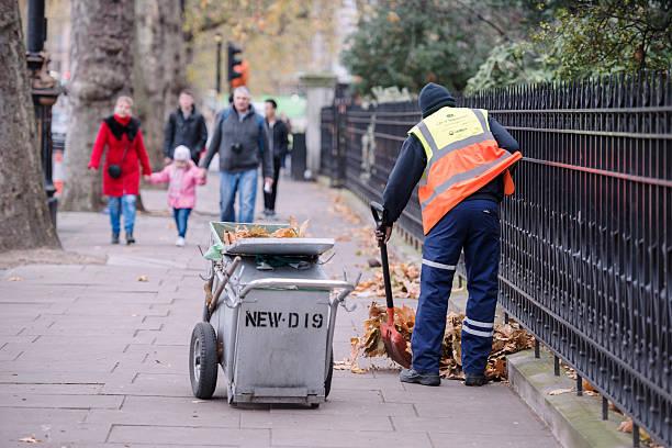 Autumn in London stock photo