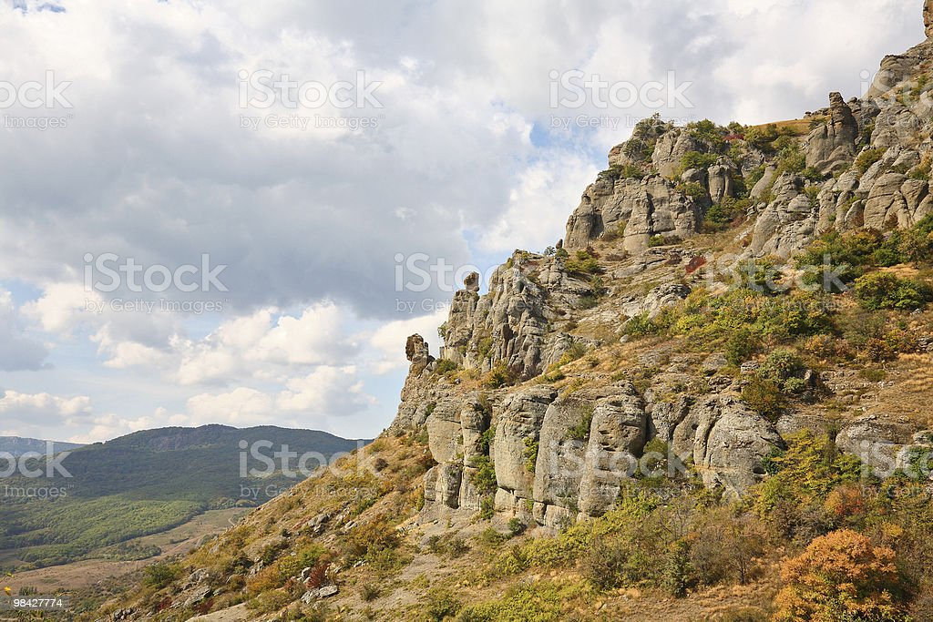 Autunno in montagna foto stock royalty-free