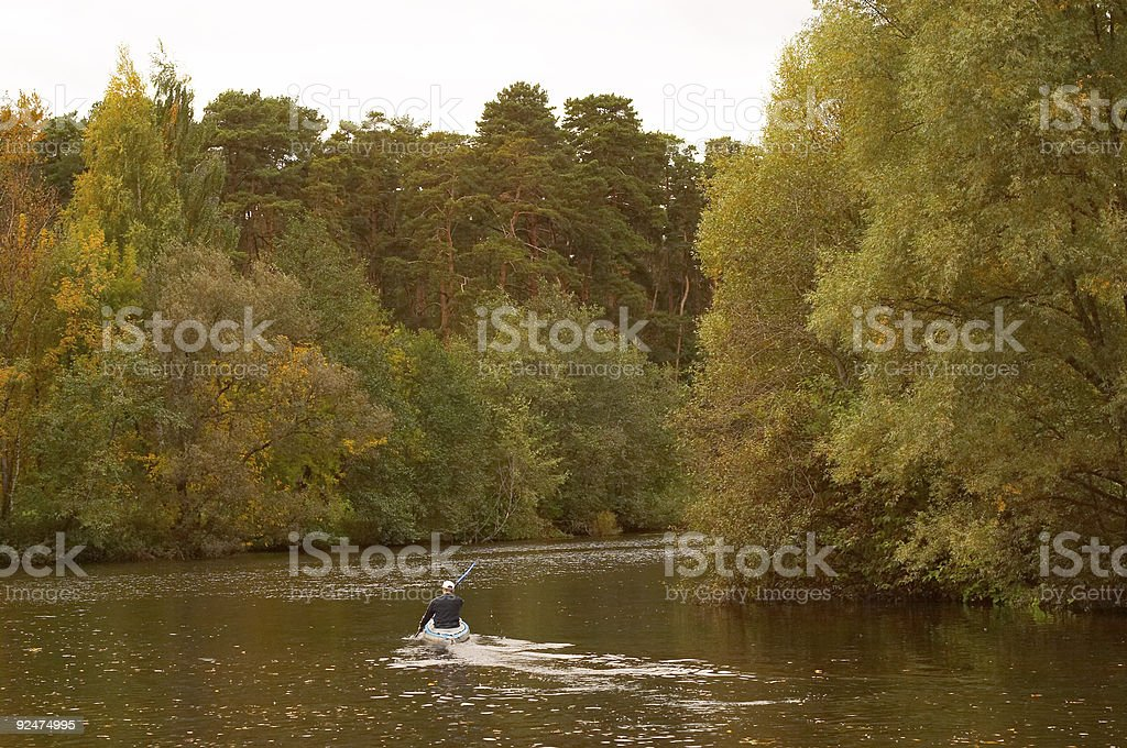 Autumn in Russia 10 royalty-free stock photo