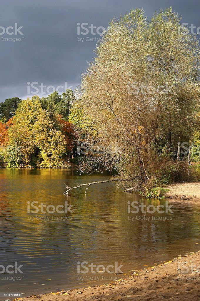Autumn in Russia. royalty-free stock photo