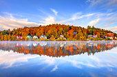 Saranac Lake is a village in the state of New York, United States. The village lies within the boundaries of the Adirondack Park