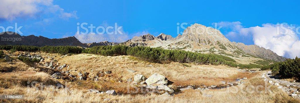 Autumn in Tatra. Poland royalty-free stock photo