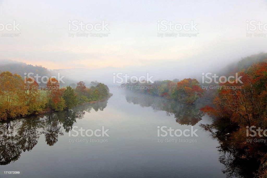Autumn in the Appalachians royalty-free stock photo