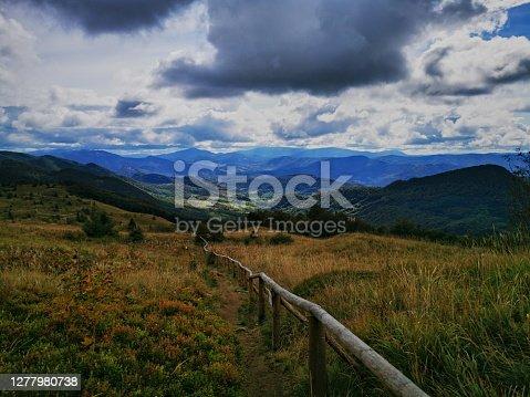 istock Autumn in the Bieszczady Mountains Poland. 1277980738