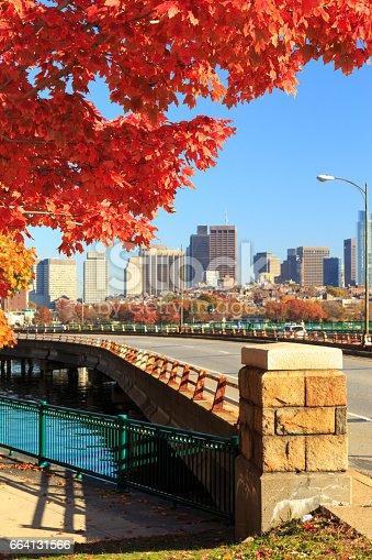 istock Autumn in the city 664131566